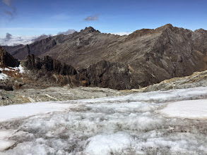 Photo: Humboldt Glacier and Pico Bolivar