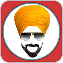 Punjabi Turban Beard Editor icon
