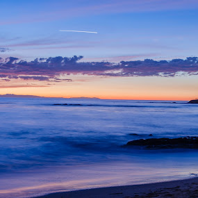 Laguna Beach Sunset by Ty Yang - Landscapes Sunsets & Sunrises ( laguna beach, sunset, beach )