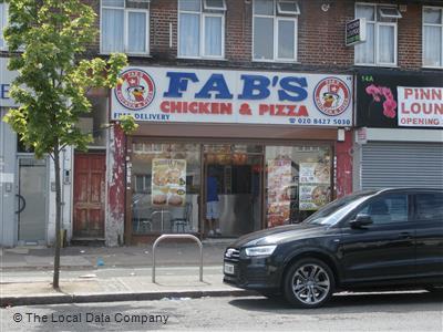 Fabs Chicken Pizza On Pinner Road Fast Food Takeaway In