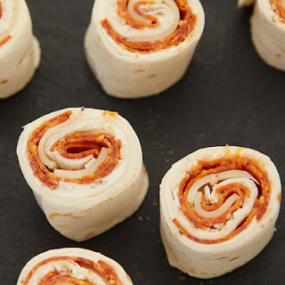 Cold Pepperoni Pizza Roll-Ups.