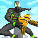 Hero At War : Spider Power Shooter Games icon