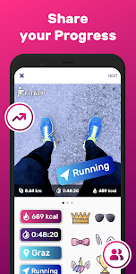 Running & Walking GPS FITAPP Mod Apk (Premium Lifetime Subscription) 6