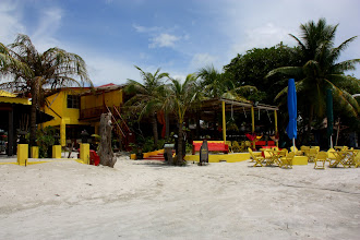 Photo: Year 2 Day 103 - One of the Restaurants on the Beach