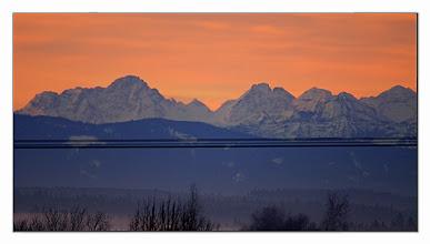 Photo: Sonnenaufgang / Sunrise