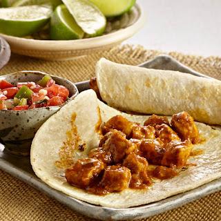 Easy Pork Carnita Tacos.
