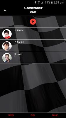 Carrera Race App - screenshot