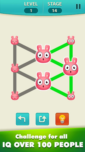 1 Line - Draw 1 Stroke By One Touch - Shape Games - screenshot