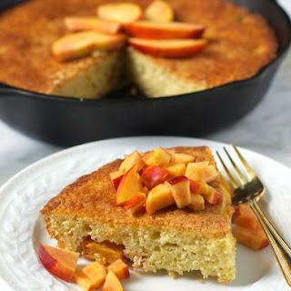 Nectarine Skillet Cake.