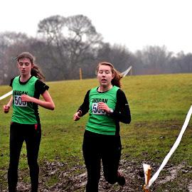 Green   heat by Gordon Simpson - Sports & Fitness Running