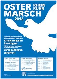 Ostermarschplakat 2016.