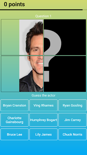 Hollywood Actors: Guess the Celebrity u2014 Quiz, Game  screenshots 6