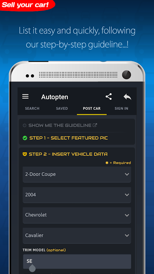 Cheap Cars For Sale - Autopten- screenshot