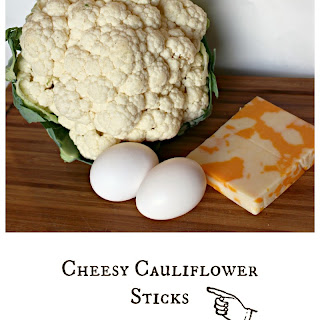 Cheesy Cauliflower Sticks