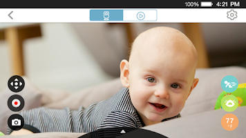 Screenshot of mydlink Baby Camera Monitor