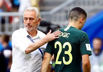 """Nederlandse bondscoach van Australië baalt na gelijkspel: """"Eigenlijk hadden we nu vier punten moeten hebben"""""""