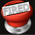 YOU'RE FIRED BUTTON icon