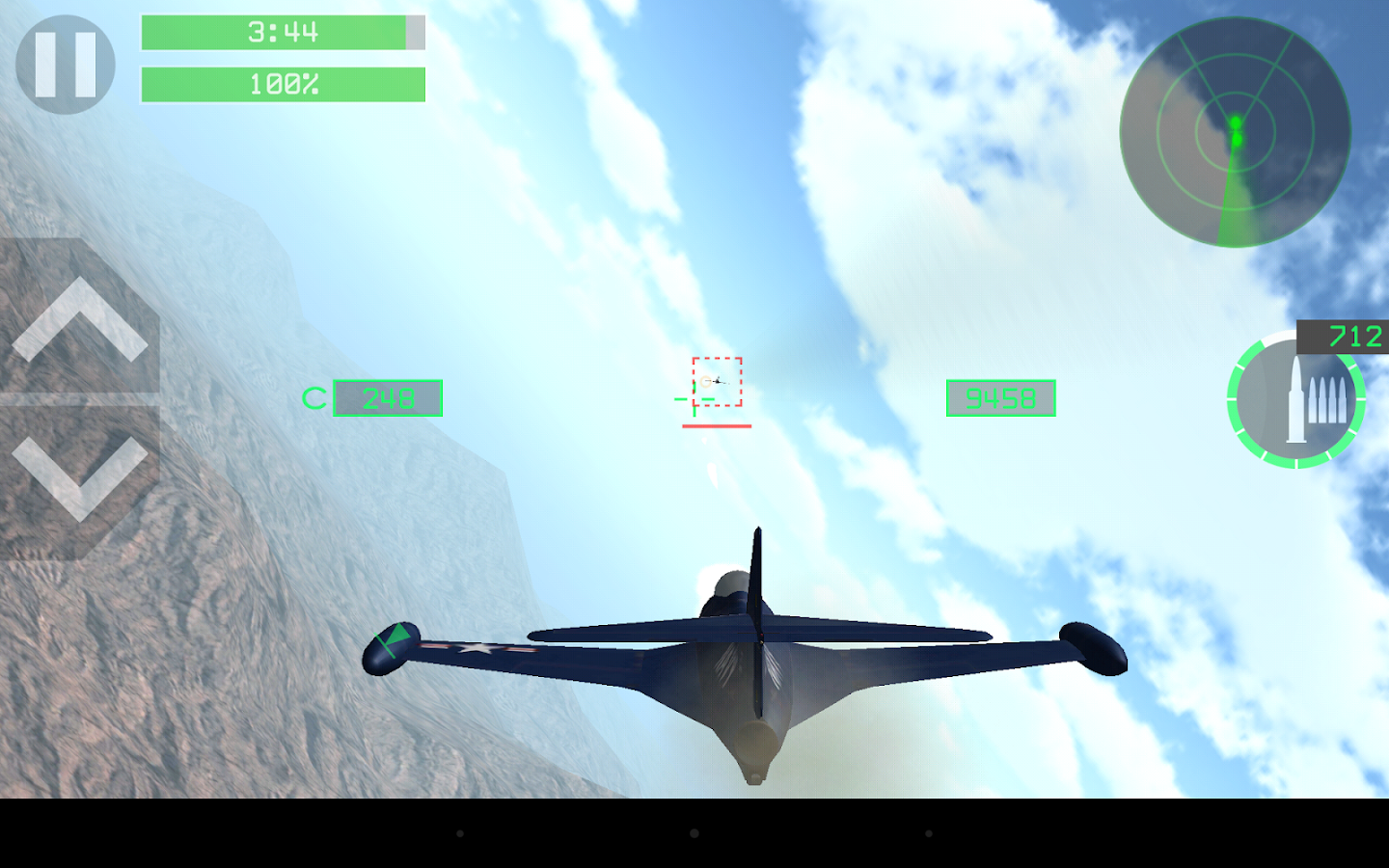 Strike Fighters Legends- screenshot