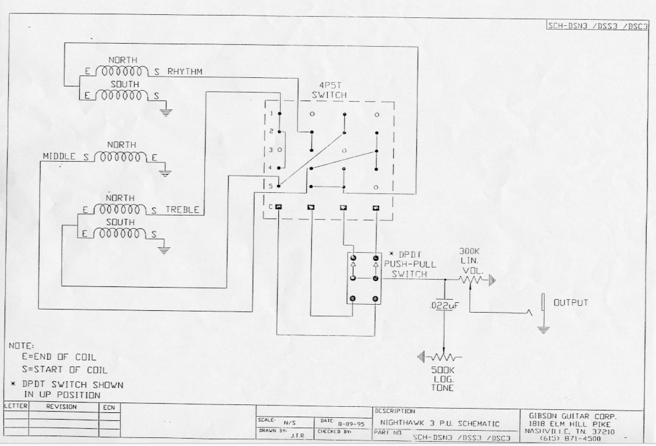 nighthawk with floyd 1994 - original wiring ??? any nighthawk owners to  help ? | my les paul forum  my les paul