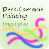 Decalcomanie Painting