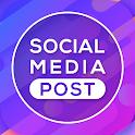 Social Media Post Maker : Social Post Designer icon