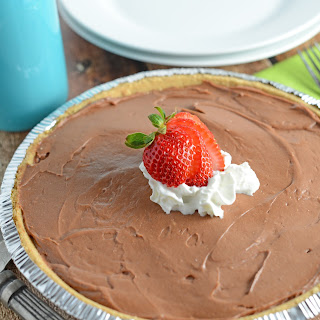 No-Bake Chocolate Cheesecake.