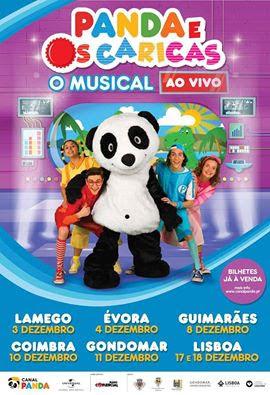 """Musical """"Panda e os Caricas"""" chega a Lamego a 3 de dezembro"""
