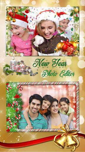 Christmas Photo Frames 2019 ud83cudf84 New Year Pic Editor 1.1 screenshots 2