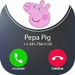 Call From Pepa Pig Icon