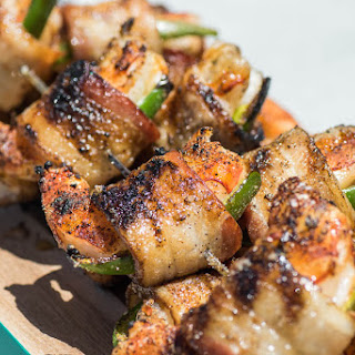 Grilled Jalapeno Bacon Wrapped Shrimp