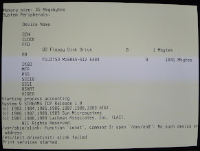 Photo: ASV boot process: device summary