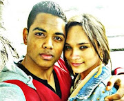 Zephany Nurse, who was brought up as Miché Solomon, with her then-boyfriend, MMZ fighter Qaasim Coetzee, in October 2014, shortly before she was reunited with her biological parents, Morne and Celeste Nurse.