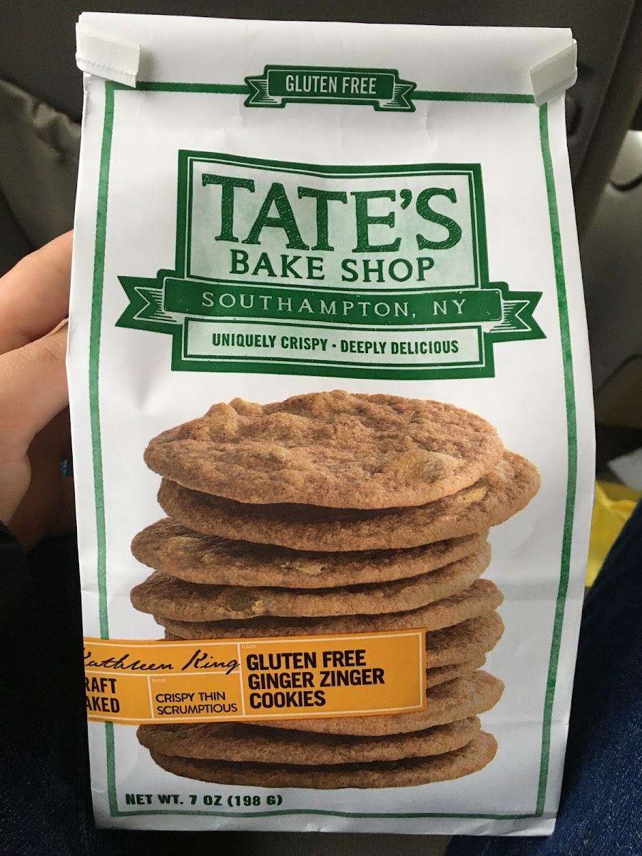 Ginger Zinger Cookies
