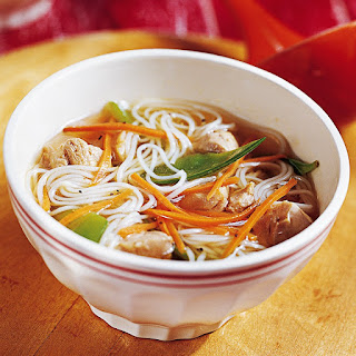 Ginger-Chicken Noodle Soup Recipe