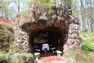 Photo: u františkánského klášteru v Prudniku