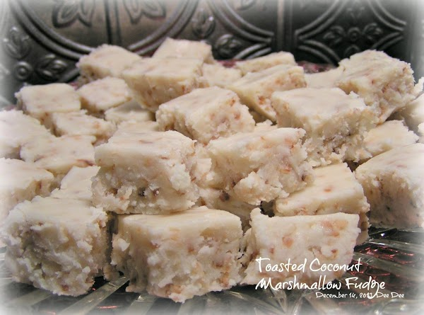 Toasted Coconut Fudge - Dee Dee's Recipe