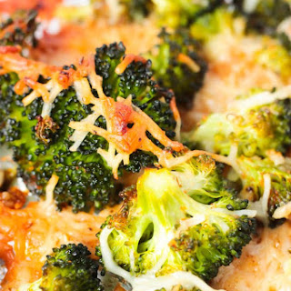 Crispy Garlic Parmesan Roasted Broccoli Recipe