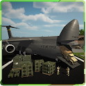 Real Army Truck Driving – A military transporter icon