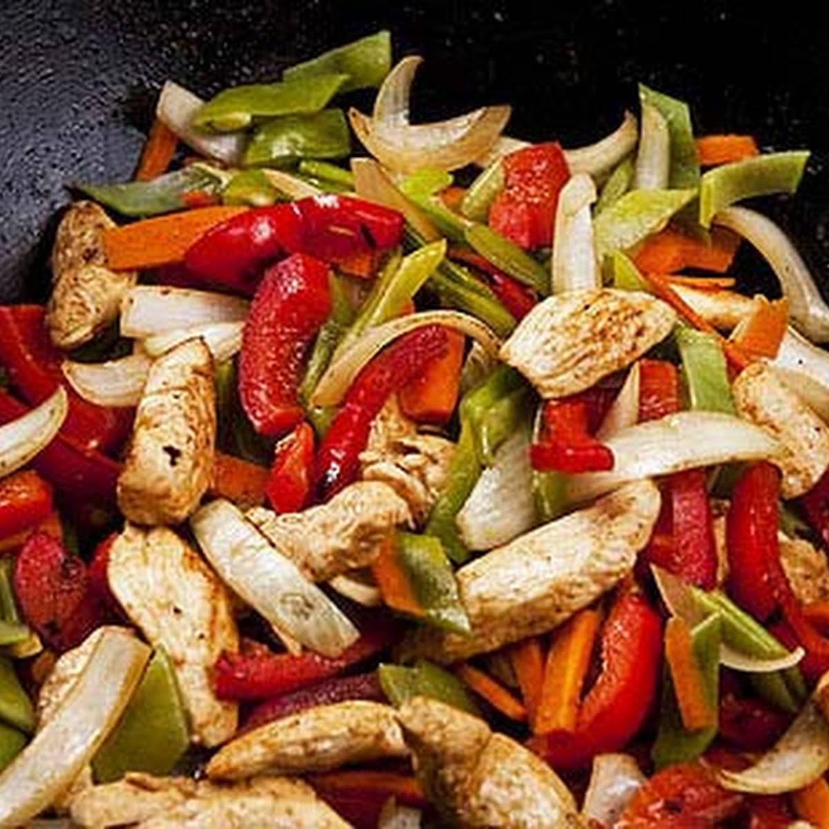Stir-fried Chicken