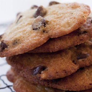 Banana Chocolate Chip Cookies.