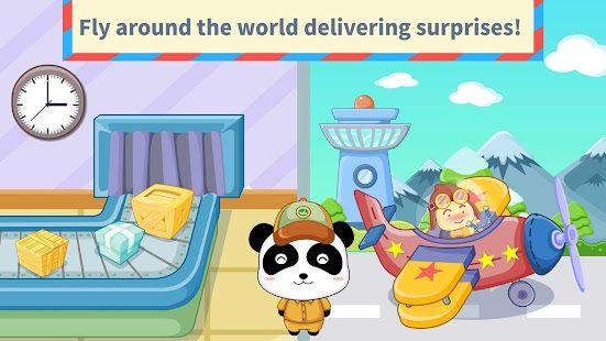 Baby Panda's Post Office- screenshot thumbnail