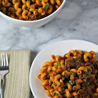 Pasta with Braised Short Ribs