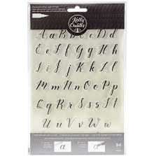 Kelly Creates Acrylic Traceable Stamps - Alphabet