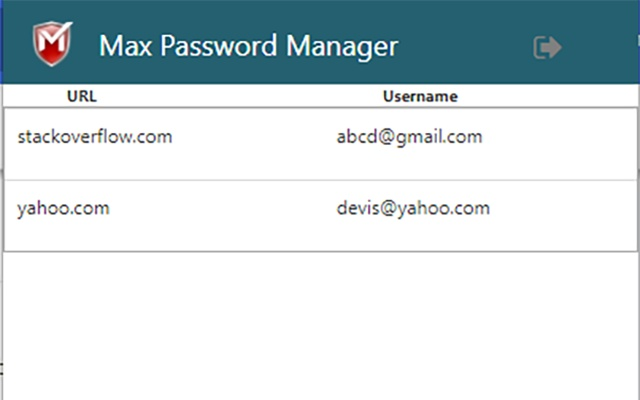 Max Password Manager