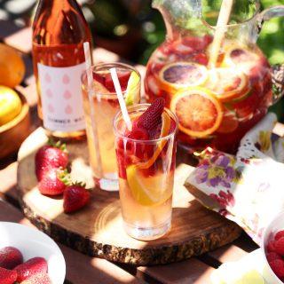 Summer Rosé Sangria Recipe