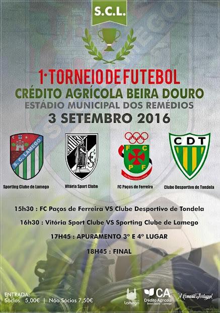 1º Torneio de Futebol - Crédito Agrícola Beira Douro - 3 de setembro de 2016
