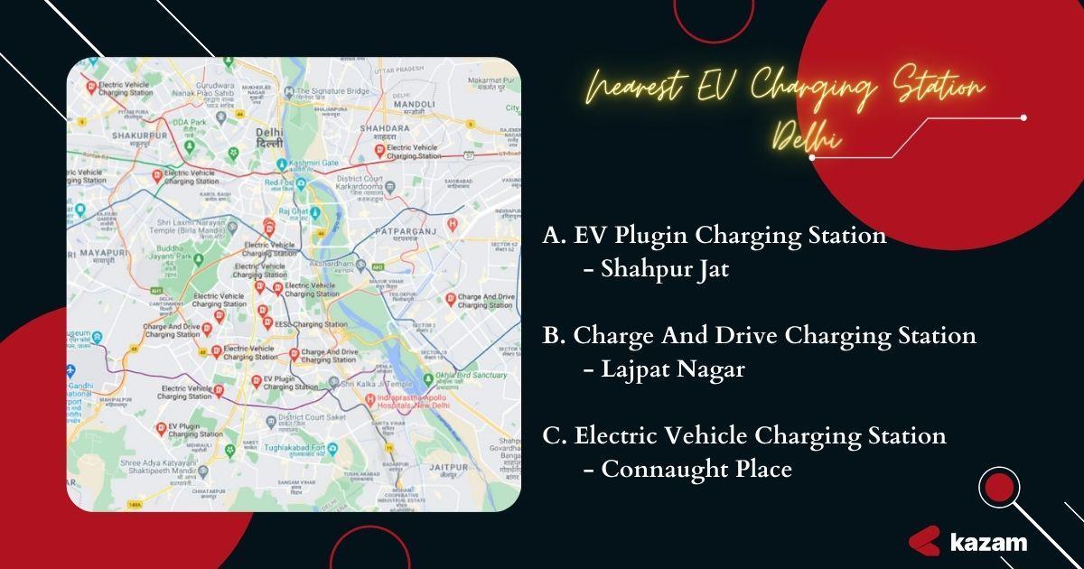 Electric Vehicle Charging Station, EV, EV Charging Station, Kazam EV, Kazam, switch delhi, new delhi electric vehicle