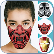 Mask Photo Editor Style (faces)