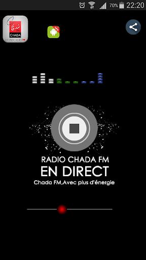 CHADA FM | RADIO MAROCAINE 1.1.2 screenshots 1