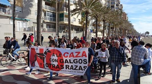 Almería se une a la manifestación nacional convocada por 'No a la caza'